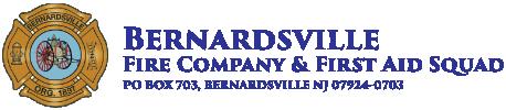 Bernardsville Fire Company & First Aid Squad – Bernardsville, NJ Logo